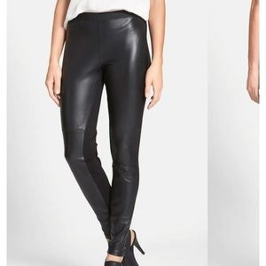 The Fisher Project Leather Front Leggings